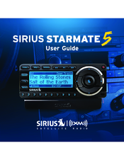 sirius xm radio starmate 5 manuals rh manualslib com Sirius Starmate 5 Radio Sirius Boombox