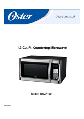oster ogzf1301 manuals rh manualslib com oster microwave oven user manual oster microwave oven manuals