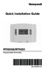 honeywell rth221b1021 manuals rh manualslib com honeywell user manual thermostat honeywell user manuals k4576v2-h m7458