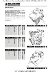 Tecumseh Mv 100 S Manuals Manualslib