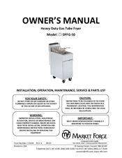 market forge industries dffg 50 manuals rh manualslib com Market Forge Autoclave Parts Market Forge Parts Replacement