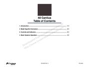 Cruisers Yachts 48 Cantius Manuals
