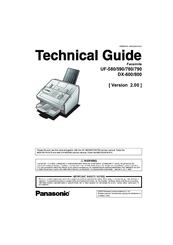 Panasonic panafax uf-580 manuals.