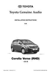 toyota corolla verso manuals rh manualslib com toyota verso 2011 user manual toyota verso user manual