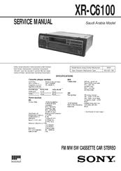 sony xr 2100 car stereo wiring diagram sony xr-c6100 manuals #10