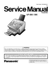 Panasonic panafax uf-595 manuals.