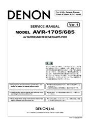 denon avr 685 manuals rh manualslib com Denon AVR- 1602 Denon AVR- 1602