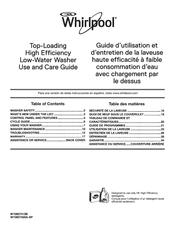 Whirlpool WTW5000DW Manuals