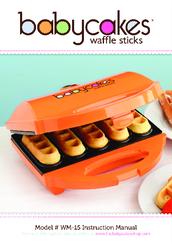 babycakes wm 15 manuals rh manualslib com instruction manual for babycakes cake pop maker babycakes instruction manual