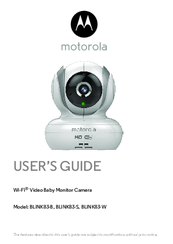 Motorola BLINK83-W User Manual