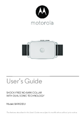 Motorola BARK200U-B User Manual