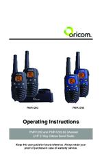 oricom pmr1295 manuals rh manualslib com User Manual 3.5 Monster Manual 2