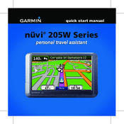 garmin n vi 205w series manuals rh manualslib com garmin nuvi 205 manual pdf garmin nuvi 205 owner's manual free download