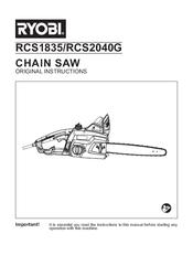 ryobi rcs1835 manuals rh manualslib com ryobi user manuals generators 3600 ryobi instruction manuals