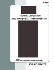 whirlpool gi7fvcxwy bottom freezer refrigerator manuals rh manualslib com Instruction Manual Instruction Manual Example