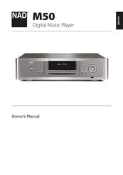 nad m50 owner s manual pdf download rh manualslib com