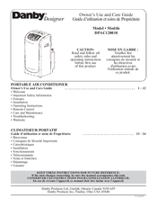 dimplex portable air conditioner manual instructions