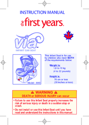 safe and sound car seat instruction manual