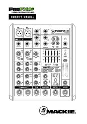 mackie profx4 v2 manuals rh manualslib com mackie profx8 mixer user manual Mackie DX8