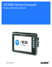 Motorola VC70N0 Product Reference Manual