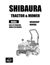 manuals and user guides for shibaura sx24  we have 3 shibaura sx24 manuals  available for free pdf download: workshop manual, operator's manual,