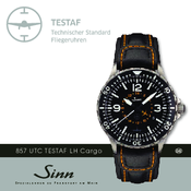 sinn 857 utc testaf lh cargo user manual pdf download