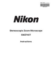 Микроскоп nikon smz745t, инструкция