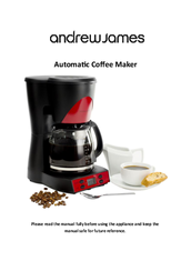 Andrew James Automatic Coffee Maker Manuals
