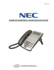 nec aspire manuals rh manualslib com NEC Aspire Call Forwarding nec aspire s hardware manual