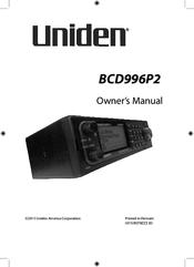 Uniden bcd996p2 Manuals