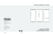 Viking Designer DFBB536 Installation Manual