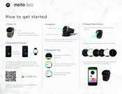 Motorola Moto 360 How To Get Started