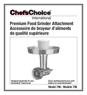 KitchenAid ChefsChoice User Manual