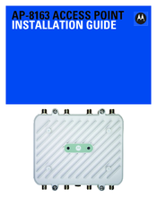 Motorola AP-8163 Installation Manual