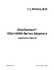 Emulex OneConnect OCe14000-Series Manuals