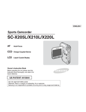 Samsung SC-X210L Owner's Instruction Book