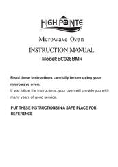 High Pointe Ec028bmr Instruction Manual