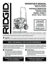 RIDGID RD80011 Operator's Manual