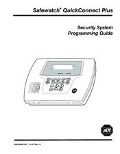 safewatch quickconnect plus manuals rh manualslib com  adt safewatch quickconnect plus user manual
