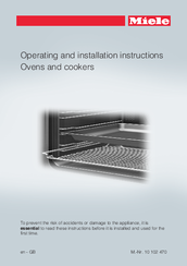 Miele H2260E Operating Instructions Manual