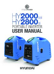 Hyundai Hy2000sei User Manual Pdf Download Manualslib