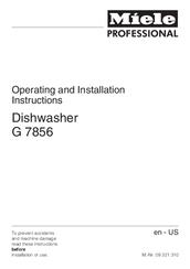 miele g 7856 manuals rh manualslib com Best Miele Dishwasher miele g575 dishwasher user manual
