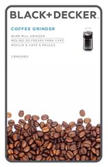 Black & decker smartgrind cbg5 series manuals.