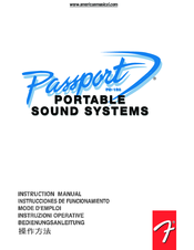 fender passport pd 150 manuals rh manualslib com Fender Passport 250 Owner's Manual Fender Passport 150 Feedback