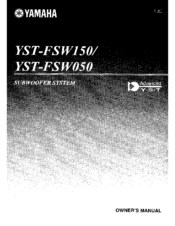 Yamaha Yst Fswbl Manual