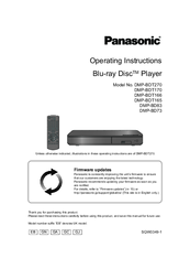 panasonic dmp bdt270 manuals rh manualslib com Panasonic DMP-BDT210 Netflix Problem Panasonic 3D Smart Blu-ray Player