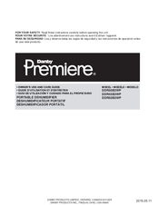 danby premiere air conditioner dpac10071 manual