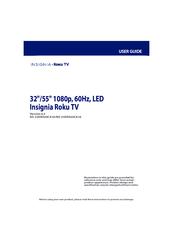 INSIGNIA ROKU TV NS-32DR420CA16 USER MANUAL Pdf Download
