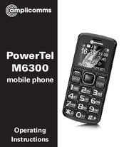 Amplicomms PowerTel M6300 Operating Instructions Manual