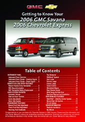 gmc chevrolet express manuals rh manualslib com 2006 Chevy Express Van 3500 2006 Chevy Express Recalls